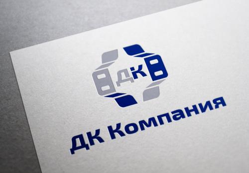 Логотип комплектующие мокап