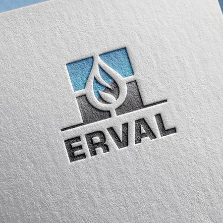Логотип на визитке нефтегазовой отрасли